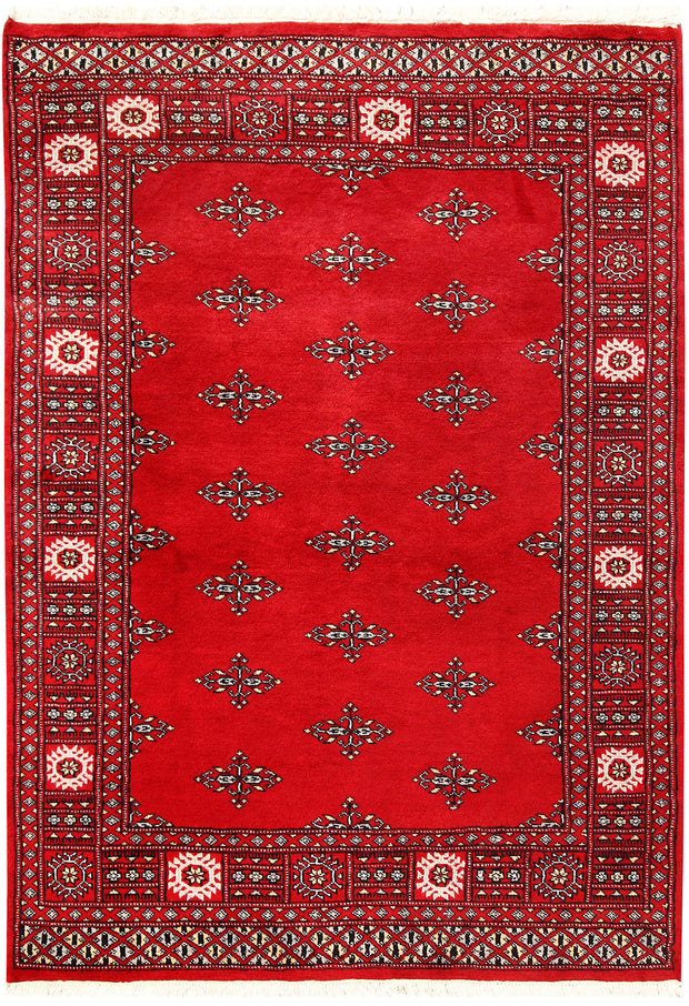Red Butterfly 4' 1 x 5' 9 - No. 60987 - ALRUG Rug Store