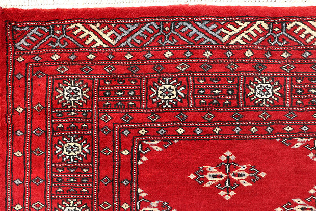 Red Butterfly 4' 2 x 6' 2 - No. 60999 - Alrug Rug Store