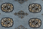 Light Slate Grey Bokhara 4' x 6' 6 - No. 61047 - ALRUG Rug Store