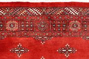 Orange Red Butterfly 4' x 6' 1 - No. 61068 - Alrug Rug Store