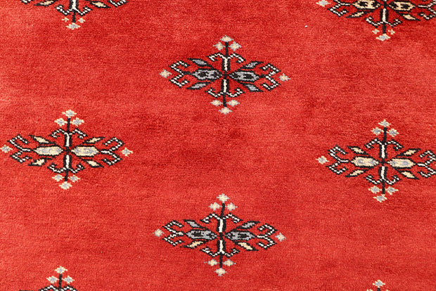 Orange Red Butterfly 4' x 5' 11 - No. 61069 - ALRUG Rug Store