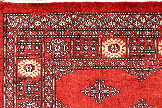 Orange Red Butterfly 4' 1 x 6' 3 - No. 61071 - ALRUG Rug Store
