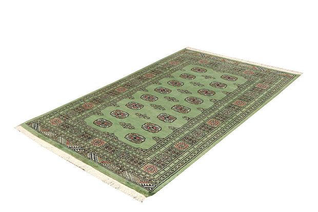 Dark Sea Green Bokhara 4' x 6' 4 - No. 61082 - ALRUG Rug Store
