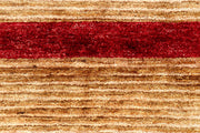Wheat Gabbeh 4' 7 x 6' 2 - No. 61116 - ALRUG Rug Store