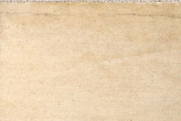 Blanched Almond Gabbeh 4' x 6' - No. 61119 - ALRUG Rug Store