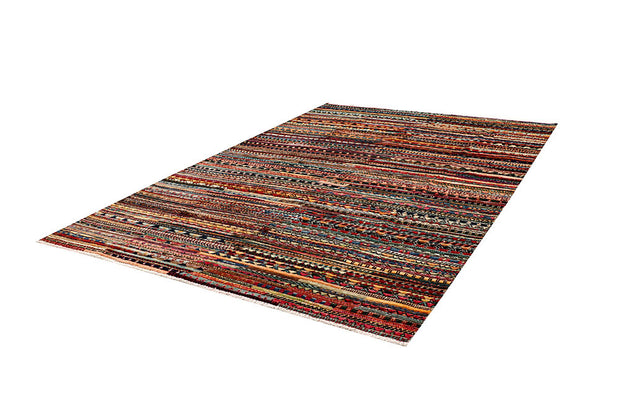 Multi Colored Gabbeh 5' 10 x 8' 10 - No. 61144 - ALRUG Rug Store