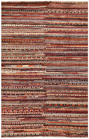 Multi Colored Gabbeh 5' 10 x 9' - No. 61151 - ALRUG Rug Store