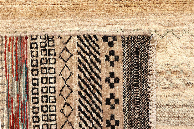 Blanched Almond Gabbeh 4' 9 x 6' 5 - No. 61162 - ALRUG Rug Store