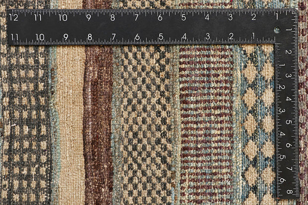 Multi Colored Gabbeh 6' 5 x 9' 9 - No. 61170 - ALRUG Rug Store