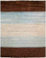 Multi Colored Gabbeh 7' 11 x 9' 10 - No. 61171 - ALRUG Rug Store