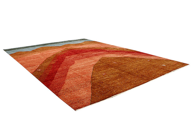 Multi Colored Gabbeh 8' 1 x 10' 4 - No. 61177 - ALRUG Rug Store
