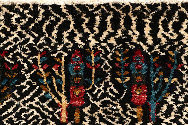 Multi Colored Gabbeh 5' 6 x 7' 10 - No. 61188 - ALRUG Rug Store