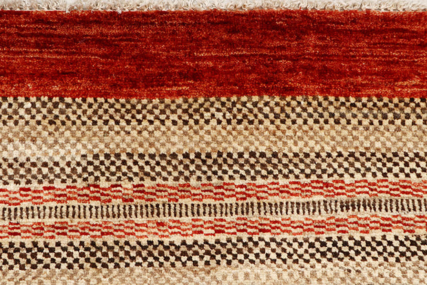 Multi Colored Gabbeh 3' 1 x 5' 3 - No. 61198 - ALRUG Rug Store