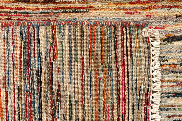 Multi Colored Gabbeh 3' 2 x 5' - No. 61204 - ALRUG Rug Store