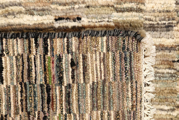 Blanched Almond Gabbeh 2' x 8' 6 - No. 61225 - ALRUG Rug Store