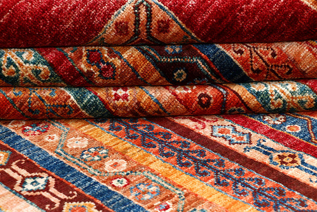 Multi Colored Shawl 5' 9 x 7' 9 - No. 61265 - ALRUG Rug Store