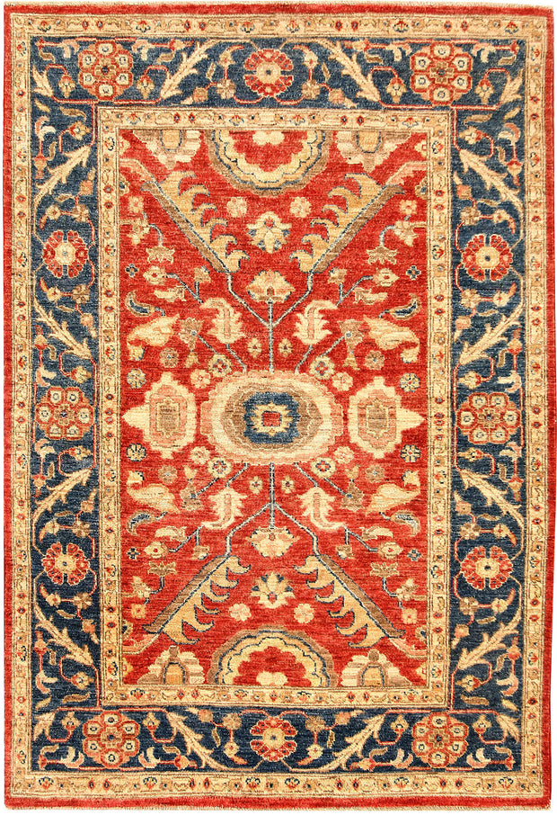 Orange Red Serapi 4' x 5' 11 - No. 61767 - ALRUG Rug Store