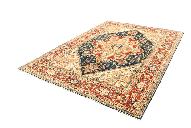 Midnight Blue Serapi 6' 6 x 9' 7 - No. 61768 - ALRUG Rug Store