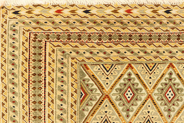 Multi Colored Mashwani 5' x 6' 5 - No. 61781 - ALRUG Rug Store