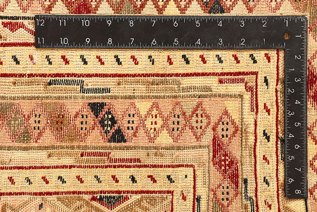 Multi Colored Mashwani 5' 2 x 6' 5 - No. 61782 - ALRUG Rug Store