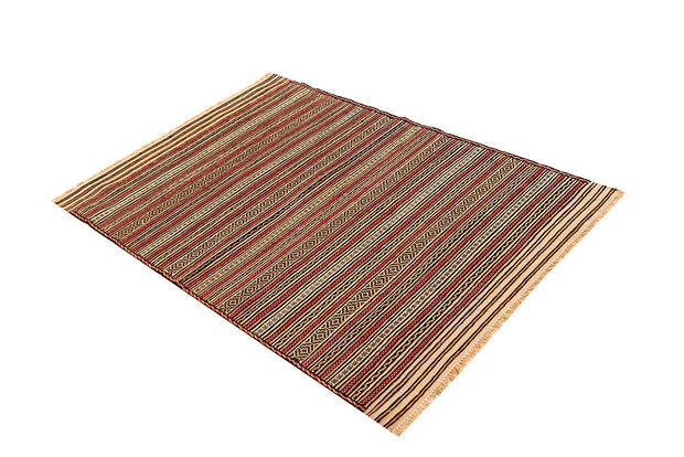 Multi Colored Maliki 3' 1 x 4' 8 - No. 61796 - ALRUG Rug Store