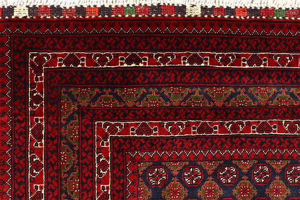 Multi Colored Baluchi 3' 4 x 5' 2 - No. 61814 - ALRUG Rug Store