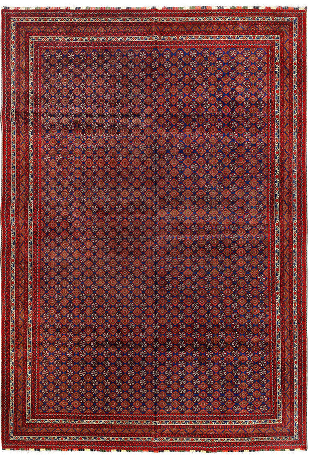 Multi Colored Baluchi 6' 8 x 9' 10 - No. 61841 - ALRUG Rug Store