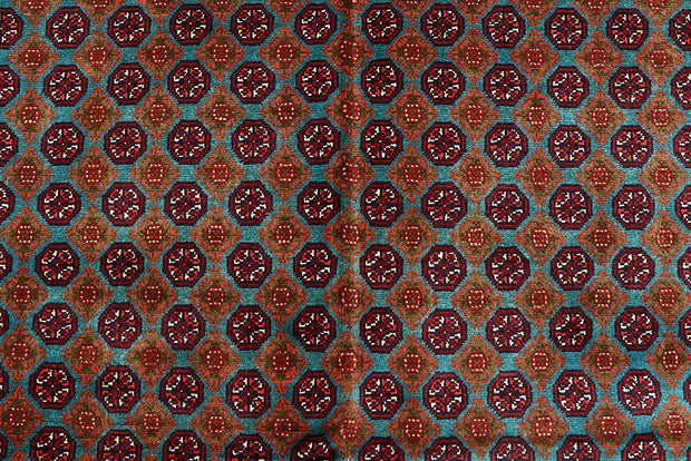 Multi Colored Baluchi 6' 2 x 9' 5 - No. 61843 - ALRUG Rug Store