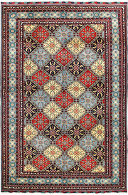 Multi Colored Baluchi 6' 7 x 10' - No. 61844