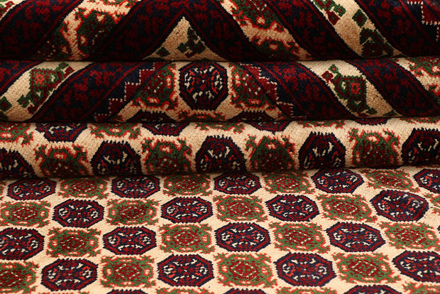 Multi Colored Baluchi 6' 5 x 9' 3 - No. 61848