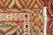 Multi Colored Mashwani 2' 9 x 4' - No. 61858 - ALRUG Rug Store