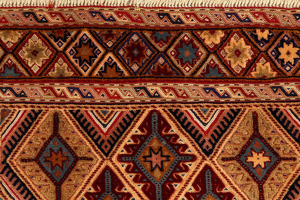 Multi Colored Mashwani 2' 9 x 4' - No. 61859 - ALRUG Rug Store
