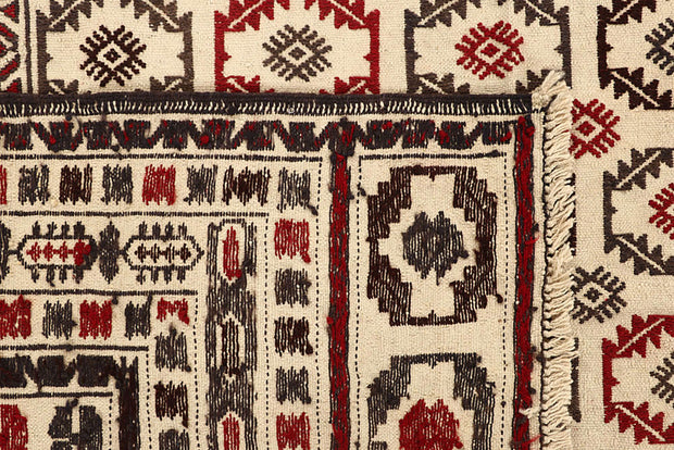 Old Lace Soumak 6' 8 x 8' 5 - No. 61860 - ALRUG Rug Store