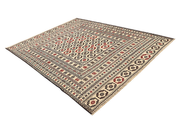 Old Lace Soumak 6' 7 x 8' 5 - No. 61861 - ALRUG Rug Store