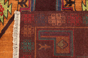 Multi Colored Baluchi 6' 6 x 8' 4 - No. 61865 - ALRUG Rug Store