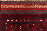 Multi Colored Mashwani 2' 4 x 11' 9 - No. 61926 - ALRUG Rug Store