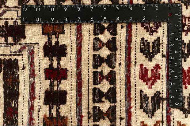 Old Lace Soumak 4' 3 x 5' 9 - No. 61941 - ALRUG Rug Store