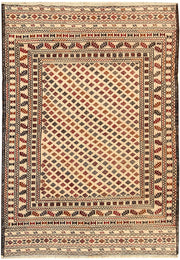 Blanched Almond Soumak 4' 2 x 6' - No. 61959 - ALRUG Rug Store
