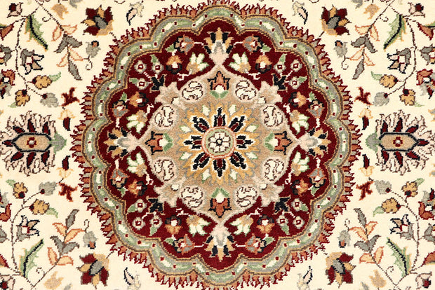Cornsilk Tree of Life 4' 7 x 7' 4 - No. 61976 - ALRUG Rug Store