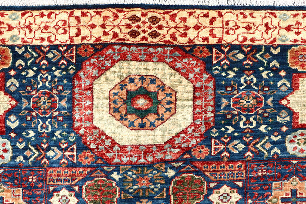 Midnight Blue Mamluk 3' 5 x 5' - No. 62034 - ALRUG Rug Store