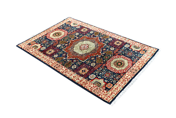 Midnight Blue Mamluk 3' 3 x 5' - No. 62107 - ALRUG Rug Store