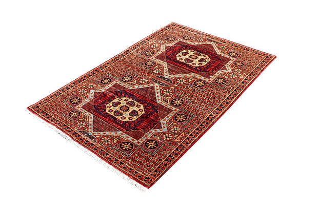 Multi Colored Mamluk 3' 3 x 4' 11 - No. 62124 - ALRUG Rug Store