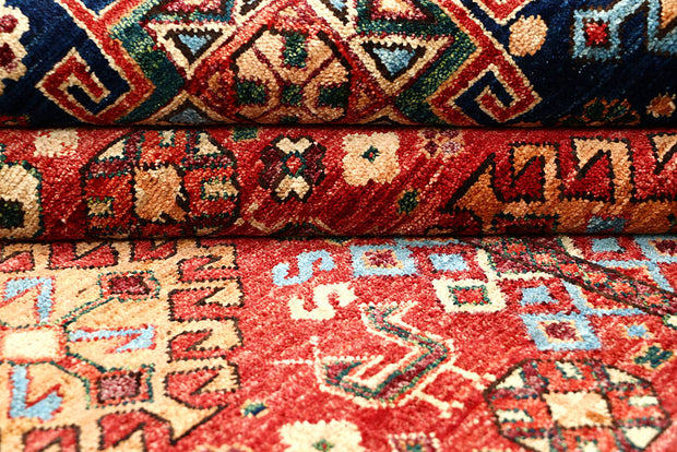 Multi Colored Oushak 5' 1 x 5' - No. 62158 - ALRUG Rug Store