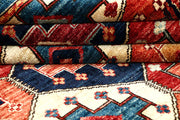 Multi Colored Ikat 5' x 4' 11 - No. 62160 - ALRUG Rug Store