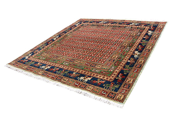 Multi Colored Ziegler 7' 9 x 8' - No. 62183 - ALRUG Rug Store