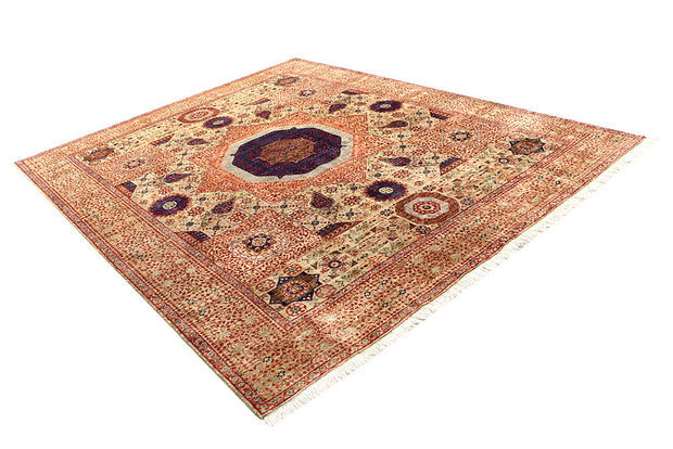 Wheat Mamluk 8' x 10' - No. 62193 - ALRUG Rug Store
