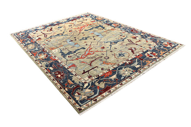 Multi Colored Oushak 7' 7 x 9' 9 - No. 62197 - ALRUG Rug Store