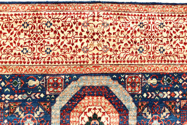 Midnight Blue Mamluk 5' 10 x 9' 7 - No. 62217 - ALRUG Rug Store
