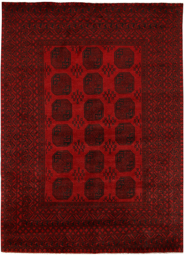 Dark Red Baluchi 6' 9 x 9' 3 - No. 62364 - ALRUG Rug Store