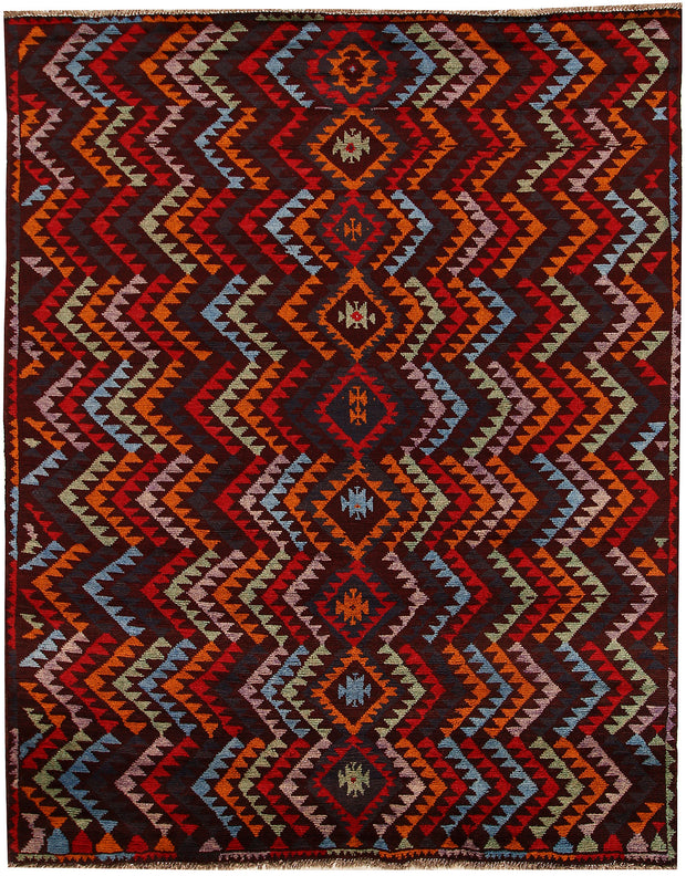 Multi Colored Baluchi 6' 1 x 7' 8 - No. 62389 - ALRUG Rug Store